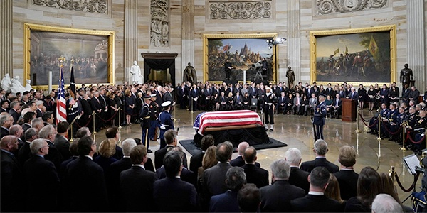 President Lying State